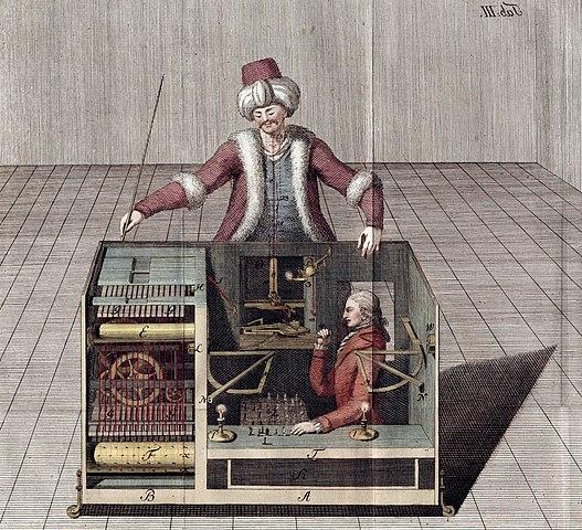 Der vermeintliche Schach-Roboter von Kempelen