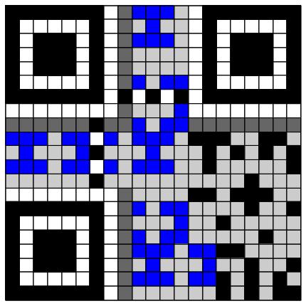QR-Code zum Beispiel SCHULHOF
