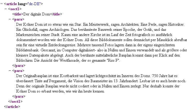 Kölner Dom - DocBook