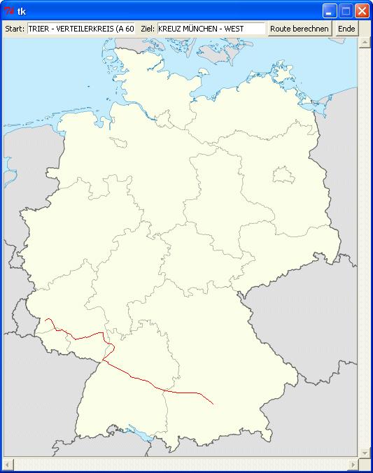 GUI-Routenplaner