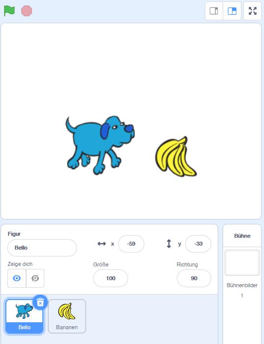 Bello und die Bananen