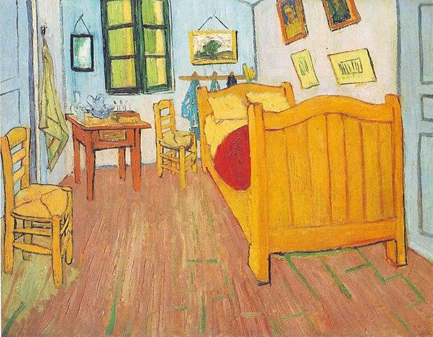 Zimmer - Gemälde von Van Gogh
