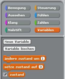 Neue Variable