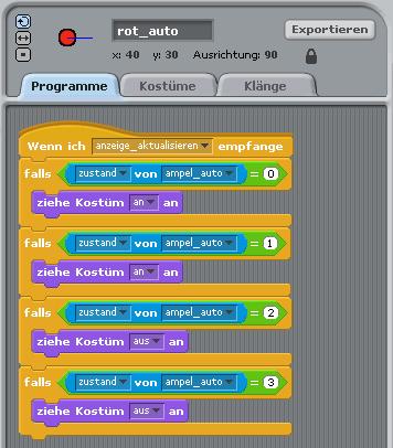 Programme von rot_auto - Weg 2